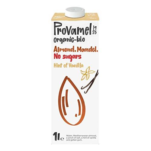 Provamel - bio Mandeldrink Ohne Zucker Hauch von Vanille - 1 l - 8er Pack