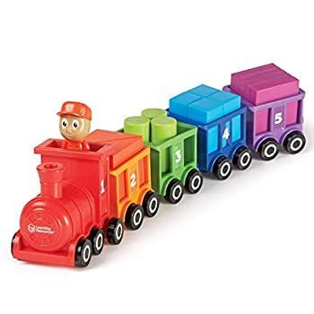 Learning Resources Count & Color Choo Choo Interactive Train Learning Toy 21 Pieces Ages 2+