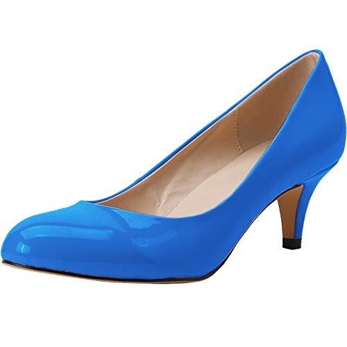 Ni Ni332-1x, Damen Standard & Latein, himmelblau - Größe: 40