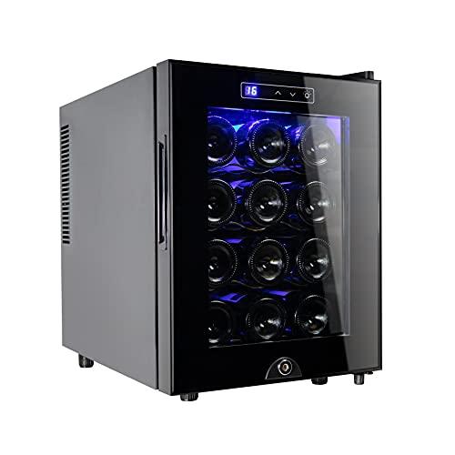 12 Bottle Wine Cooler Refrigerator,Wine Fridge...
