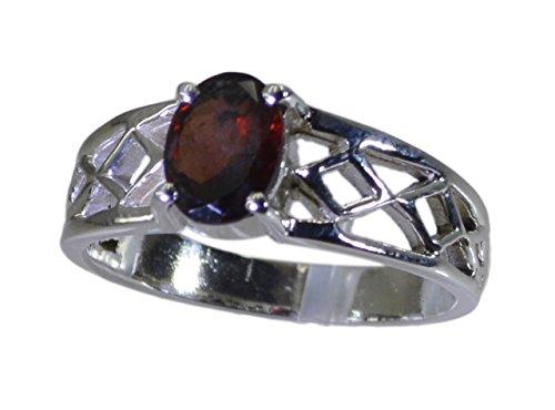 liefern Sie 925 Sterlingsilber Adorable natürlichen roten Ring Geschenk 47 (15.0)