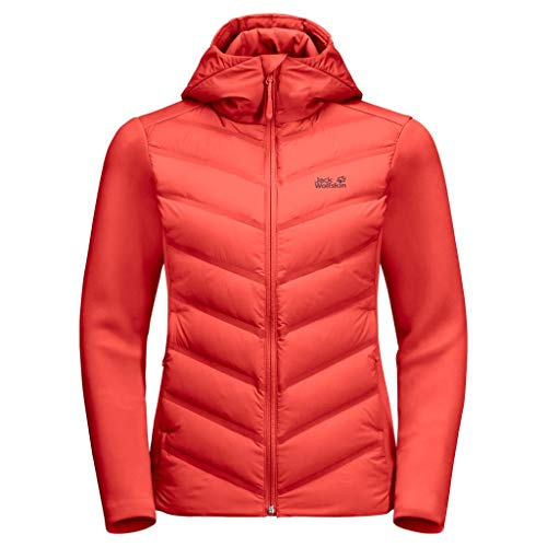 Jack Wolfskin Damen Tasman Jacket W Jacke, orange Coral, XXL