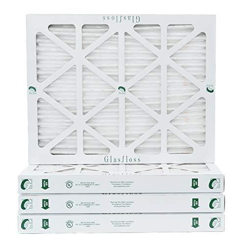 20x25x2 MERV 8 Pleated AC Furnace Air Filter - 4 PACK