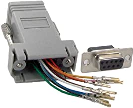 SF Cable, DB9 Female to RJ45 Modular Adapter (10 Pieces)