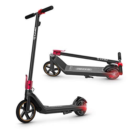 Electric Scooter, RND F14 Scooters for Teens 12 Years and Up, Foot Accelerator 10 Miles Range Up to 10 Mph, 6.5'' Wheels, Scooter for Adults Electric Long Range UL Certified
