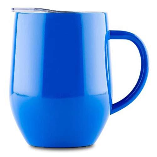 KJGHJ Taza De Viaje De 12 Oz Tazas De Café Tazas Tazas De Viaje Taza De Viaje Taza De Huevo Copa De Acero Inoxidable De Acero Inoxidable Copa De Vino, Termo, Termo, Vino