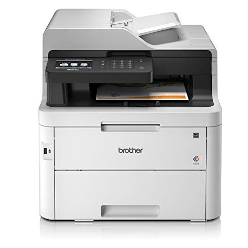 Brother MFC-L3750CDW Colour Laser Printer - All-in-One, Wireless/USB 2.0, Printer/Scanner/Copier/Fax...