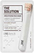The Solution Brightening Face Mask (formulated with pearl), 10 PACK, Paraben Free