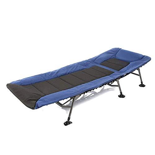 Cuna de Camping for Adultos - Plegable cunas for Dormir - Portable Camp & Beach Ejército Cama - Plegable y Pesado Desplegable de Viaje Cunas de toldo for la Caza y con Mochila