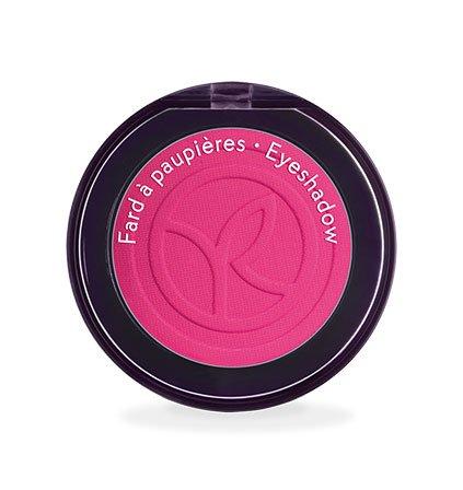 Yves Rocher COULEURS NATURE Lidschatten COULEUR VÉGÉTALE Rose Azalée mat, einzelner Eyeshadow in Pink, 1 x Dose 2 g