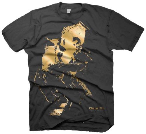 T-Shirt 3D 'Deus Ex : Human Revolution' - Aggressive Mode - Taille XL