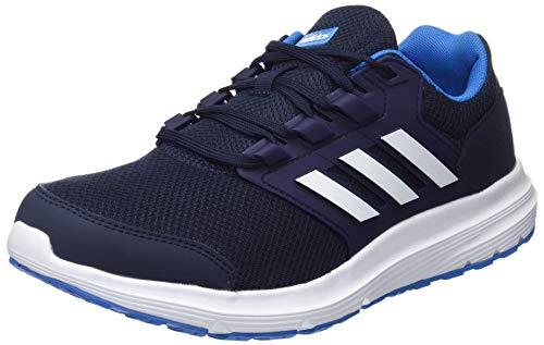 Adidas Galaxy 4 M, Zapatillas de Entrenamiento Hombre, Azul (Legend Ink F17/Ftwr White/Bright Blue), 50 2/3 EU
