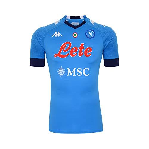 SSC NAPOLI Active Jerseys para Mujer, Camisetas activas, Azul Intenso, Mediano