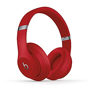 Beats Studio3 Wireless Noise Cancelling Over-Ear Headphones - Apple W1 Headphone Chip Class 1 Bluetooth 22 Hours of Listening Time Built-in Microphone - Red  Latest Model
