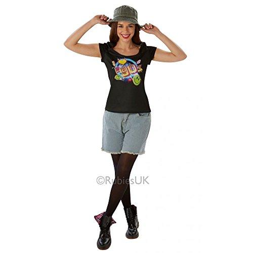 """Rubie's T-Shirt """"I Love The 90's"""", Erwachsenen-Kostüm–Größe L"""