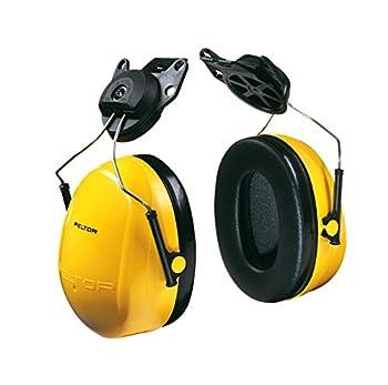 3M Peltor H9P3E Optime 98 Helmet Attachable Earmuff Hearing Protection Ear Protectors NRR 20 dB