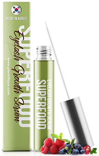 Superfood Eyelash Growth Serum for Lash - Thick Lashes and Eyebrows - Lash Booster & Eyebrow Serum...