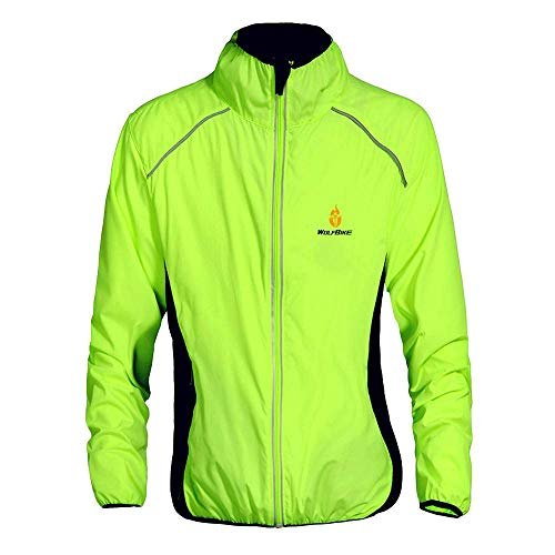 WOSAWE Ciclismo chaqueta impermeable hombres mujeres transpirable MTB Jersey...