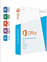 "Microsoft, Office Home And Business 2013 Box Pack 1 Pc 32/64-Bit, Medialess Win English ""Product Category: Software/Business Suite"""