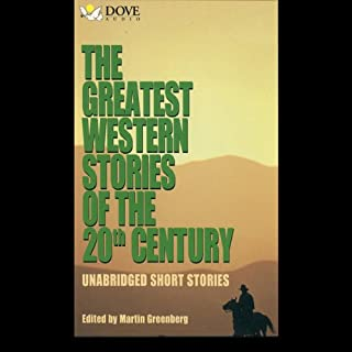 The Greatest Western Stories of the 20th Century audiobook cover art