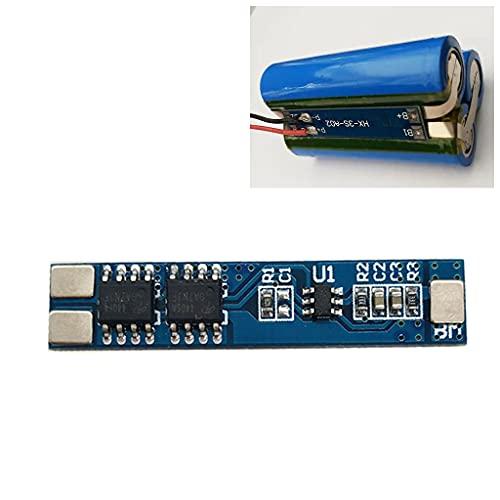 Grbewbonx 7.4V 8.4V 5A 18650 BMS cargador módulo Li-ion batería de litio placa de protección contra sobrecarga cortocircuito