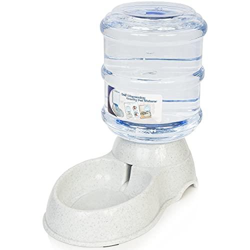 Zone Tech Self-Dispensing Pet Waterer - Premium Quality Durable Self-Dispensing Gravity 3.7 Liters...