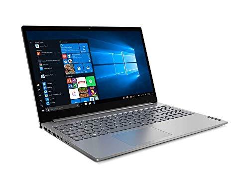 Lenovo ThinkBook 15 IIL Intel Core i5 - 1035G1, 4GB DDR4 RAM, 1TB HDD, AMD Radeon 630 2GB GDDR5, 15.6' FHD Anti-glare Display, English Keyboard, DOS (NO Operating System), Mineral Grey