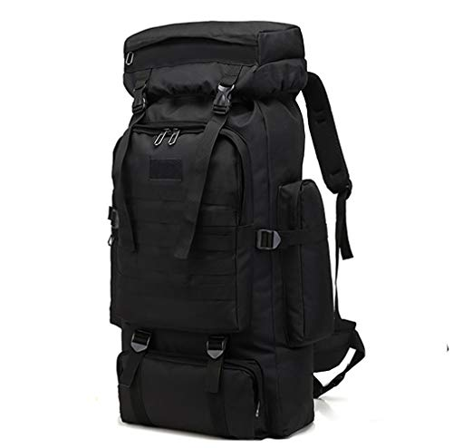 WintMing 70L Large Camping Hiking Backpack Tactical Military Molle Rucksack for...