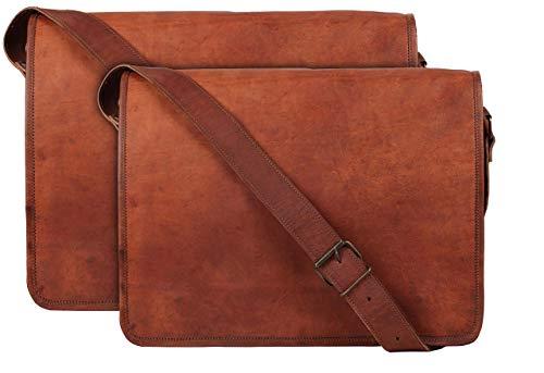 13-inch & 15-inch Crossbody Laptop Messenger Bag Combo For Laptop & Tablet.