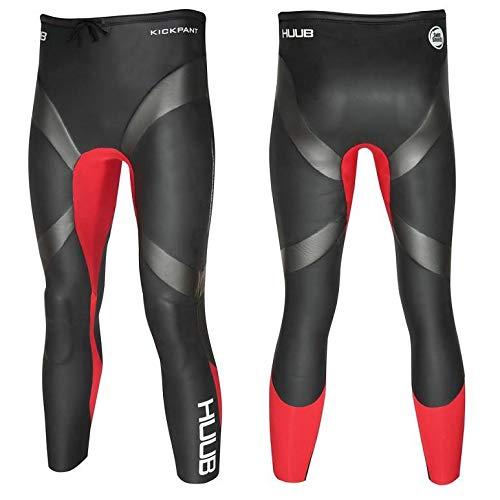 Huub Kickpant Heren Leggings Broek Zwemmen Triatlon Open Water Maten XS-XXL