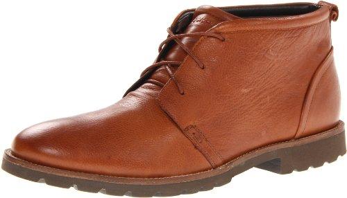 Hot Sale Rockport Men's Charson Lace-Up Boot,Dark Tan,8 M US