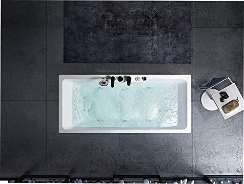Whirlpool Badewanne Freistehende Acryl Rechteckformig 170 mit massage Schwänlein®