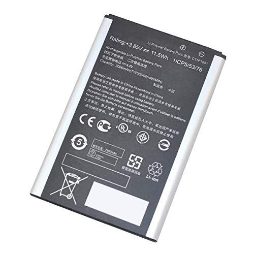 Uniamy C11P1501 0B200-01770200 - Batería para Asus ZenFone 2 Laser ZE601KL ZE551KL ZE550KL ZD551KL (3,85 V, 11,5 Wh)