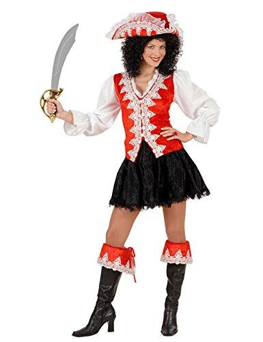 WIDMANN Disfraz de Piratesa Real Rojo