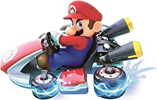 Nintendo 10 Inch Wii Kart 8 Bowser Decal Super Mario Bros Brothers Removable Peel Self Stick Wall Sticker Art Home Decor (Decoration for Walls Laptop Yeti Tumbler) 10 by 6 1/2 inch