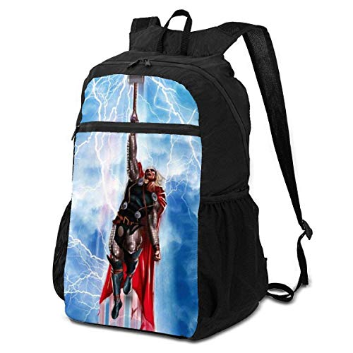 xiameng Thor Travel Folding Storage Packet 15 Inch Backpack for Boys and Girls,Suitable for Travel Sports