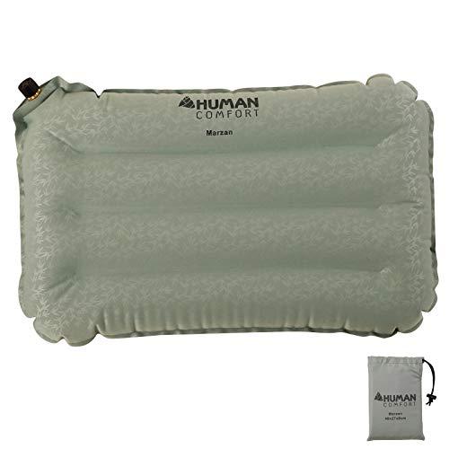 Human Comfort Sitzkissen Mazan Kopfkissen Reisekissen Camping Kissen aufblasbar 42 x 26 x 8 cm