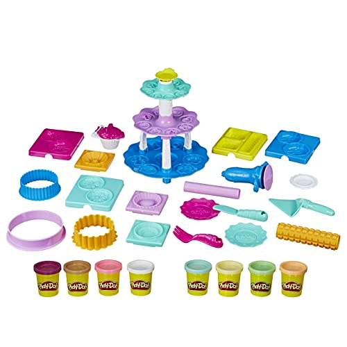 Play-Doh Bakery Creations Dough Art, Brown (Amazon Exclusive)