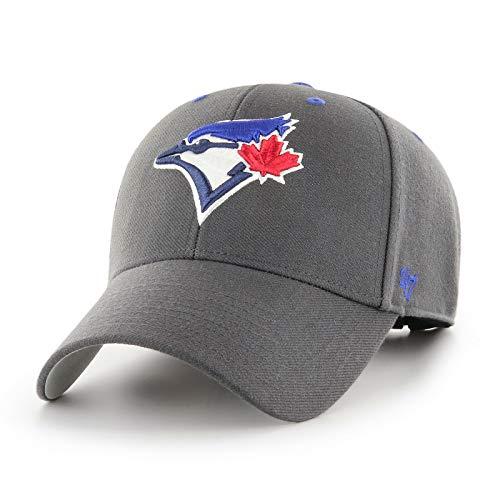 '47 MLB Toronto Blue Jays Cap Basecap Baseballcap MVP Kappe Charcoal Baseball 195000537257