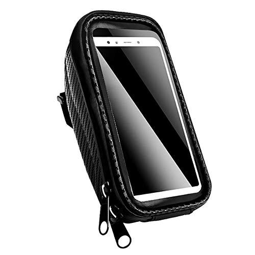 Fahrrad-Handyhalter, einstellbar Wasserdicht Lenker Fahrrad-Beutel, for 3,5 bis 6,2 Zoll Smartphone