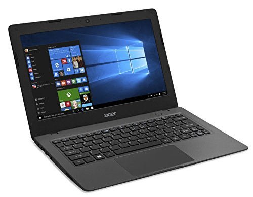 generic 11 inch laptops Acer Aspire One Cloudbook, 11-Inch HD, 32GB, Windows 10, Gray (Refurbished)
