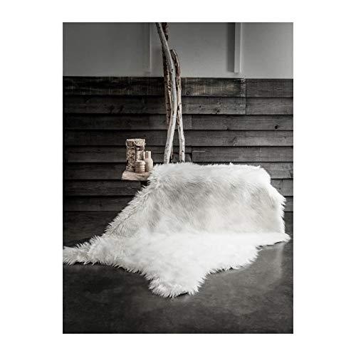 Today Tapis Fausse Fourrure Chalet - Poils Longs - 120 x 180 cm