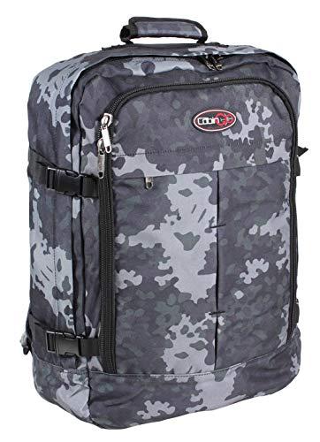 CABIN GO 5540 Zaino bagaglio a mano/cabina da viaggio leggero, Valigia Borsa da cabina 55x40x20 cm 44 litri. Approvato volo IATA/EasyJet/Ryanair
