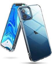 Ringke Fusion Funda Compatible con iPhone 12 y Compatible con iPhone 12 Pro (6,1 Pulgadas), Transparente Fina Slim Carcasa Parachoque TPU - Clear