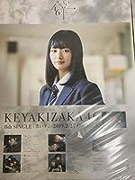 山崎天 欅坂46 黒い羊 B2ポスター