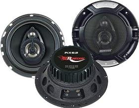 Renegade RX62 altavoz audio De 2 vías 200 W - Altavoces para coche (De 2 vías, 200 W, 100 W, 4 Ω, 60-20000 Hz, 14,3 cm)