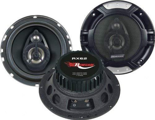 Renegade RX62 - Autolautsprecher (2-Wege, 200 W, 100 W, 4 Ohm, 60-20000 Hz, 14,3 cm)