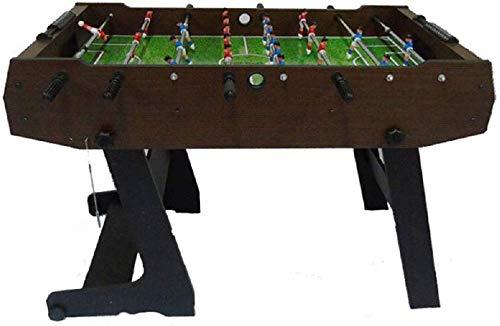 YUHT Tischfußball,Kickertisch Tischkicker Klapptisch Fußball, Indoor/Outdoor Acht-Fußballspieltisch, Erwachsener Kind Eltern-Kind-Spielzeug-Größe 121 * 61 * 85 cm