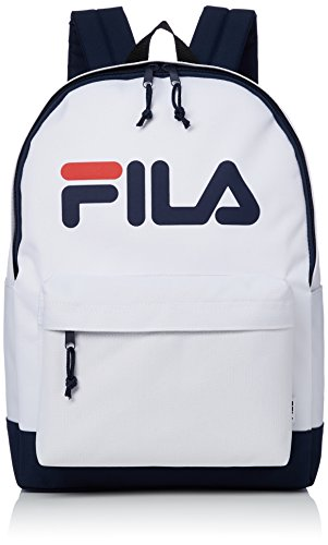 [フィラ] リュック A4サイズ対応 PC収納 ブランド ロゴ 20L FM2006 ホワイト