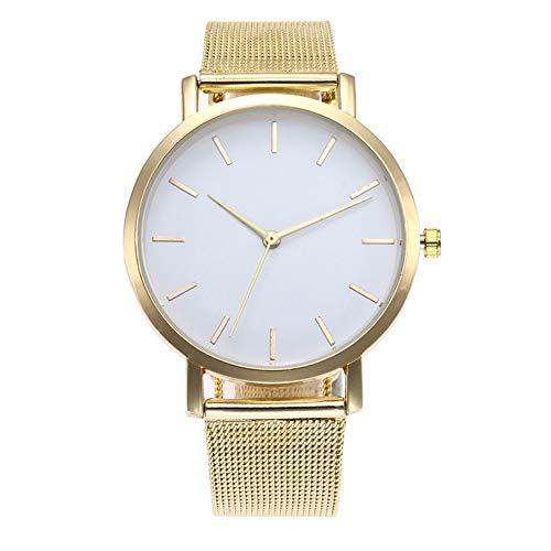 ArgoBear ZA13-W Koreanische Beiläufige Uhr Frauen wasserdichte Luxusuhren Datum Quarzuhr Legierung Mesh Gürtel Uhren Für Damen